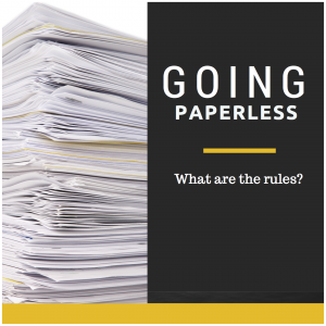 The Paperless Office Dream