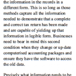 Going Paperless - The Legal Words From The Taxman!
